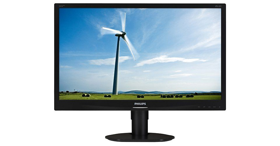 Monitor LED Philips 231S4QCB/00 23 Full HD Negru