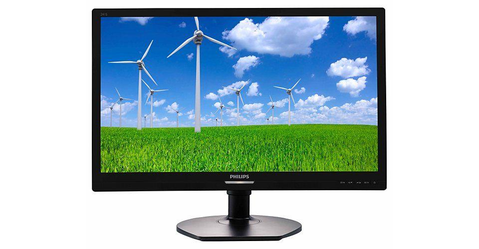 Monitor LED Philips 241S6QYMB/00 23.8 Full HD Negru