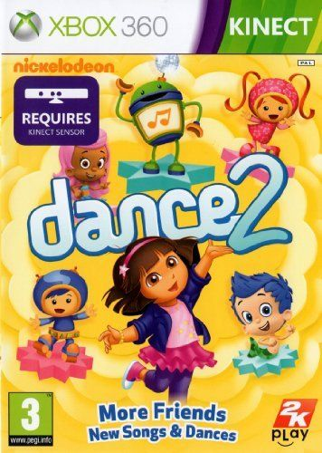 Nickelodeon Dance 2 Kinect XB360