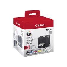 Cartus inkjet Canon PGI-2500XL Black Cyan Magenta Yellow