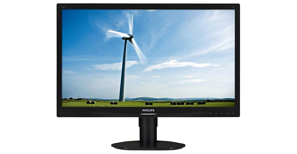 Monitor LED Philips 241S4LCB/00 24 Full HD Negru