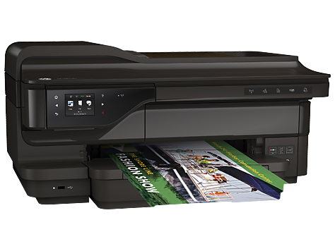 Multifunctional Inkjet HP Officejet 7612 e-All-in-One