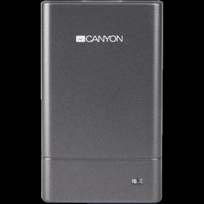 Hub USB Canyon CNE-CMB1 USB 2.0 Gri