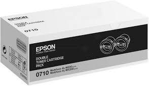 Pachet 2 Cartuse Laser Epson Black S050711 pentru AL-M200/MX200