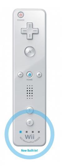 Wii Remote Controller Plus (include Wii Motion) Alb
