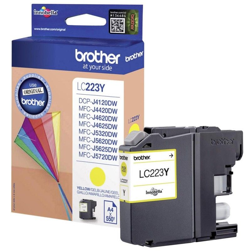 Cartuj Inkjet Brother LC223Y Yellow