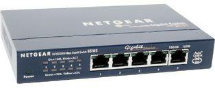 Switch Netgear GS105GE fara management fara PoE 5x1000Mbps-RJ45