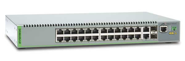 Switch Allied Telesis AT-FS970M/24C-50 cu management fara PoE 24x100Mbps-RJ45 + 2xSFP