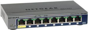 Switch Netgear GS108T cu management fara PoE 8x1000Mbps-RJ45