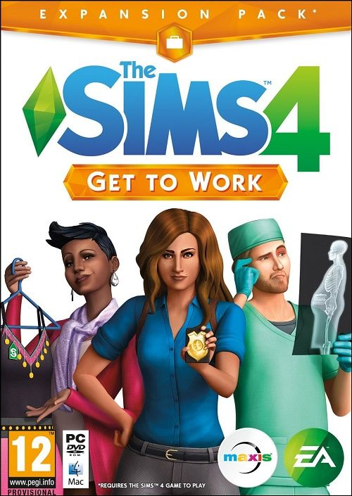 The Sims 4: Get To Work PC title=The Sims 4: Get To Work PC