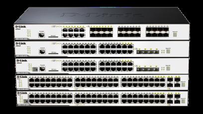Switch D-Link DGS-3120-48PC/SI cu management fara PoE 44x1000Mbps-RJ45 + 4x1000Mbps-RJ45 (sau 4 SFP)
