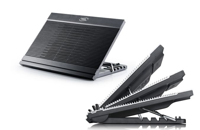 Stand NoteBook DeepCool N9 Black 17 Aluminiu