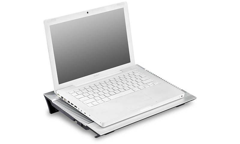 """Stand Deepcool N8 17"""" 4 porturi USB Aluminiu + Plastic"""