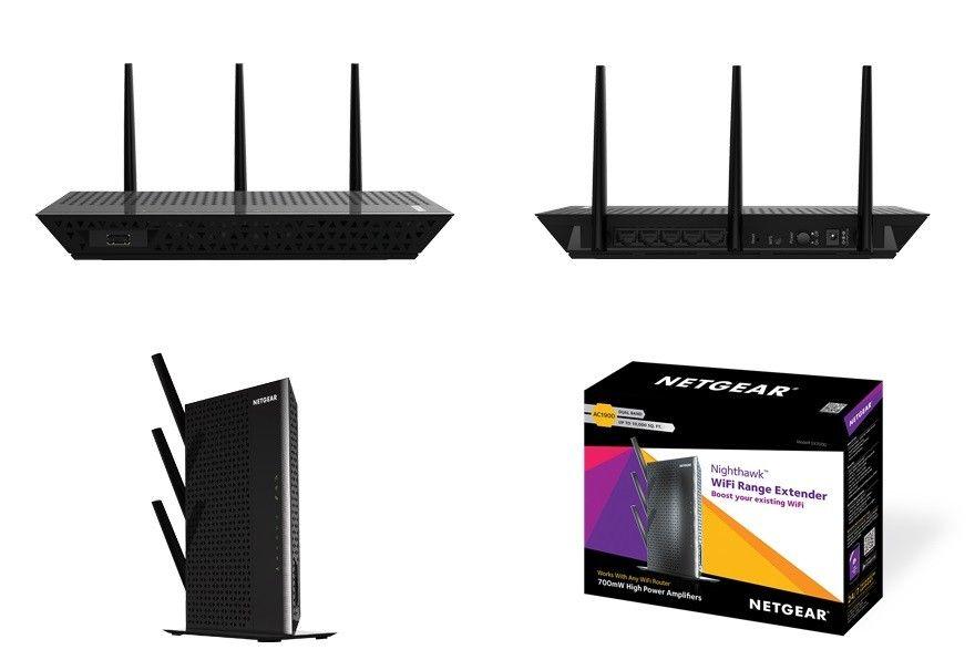 Acces Point Netgear EX7000 WiFi: 802.11ac frecventa: 2 4/5GHz - Dual radio fara alimentare PoE