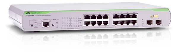 Switch Allied Telesis AT-GS916M cu management fara PoE 8x1000Mbps-RJ45 + 2xSFP