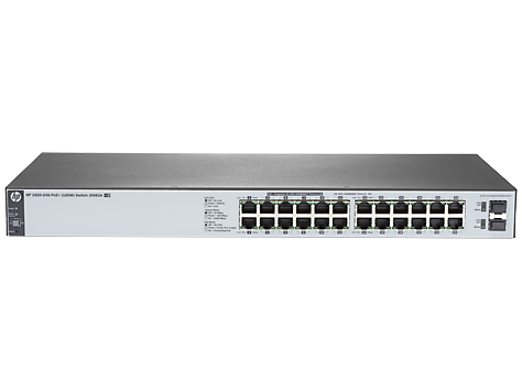 Switch HP 1820-24G-POE+ cu management cu PoE 24x1000Mbps-RJ45 (12xPoE+) + 2xSFP