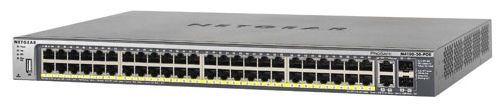 Switch Netgear FSM7250P cu management cu PoE 48x100Mbps-RJ45 (PoE)+ 2x1000Mbps-RJ45 (sau 2xSFP)