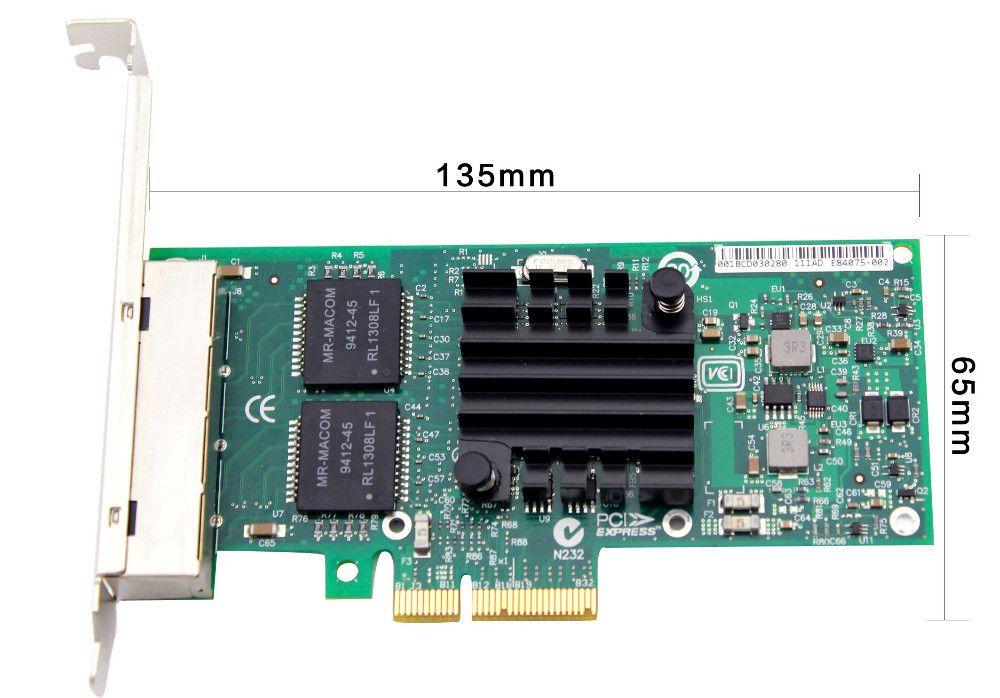Placa de retea Intel E1G44HT interfata calaculator: PCI rata de tranfer pe retea: 1000Mbps