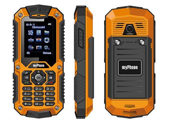 Telefon Mobil MyPhone Hammer Dual SIM Orange