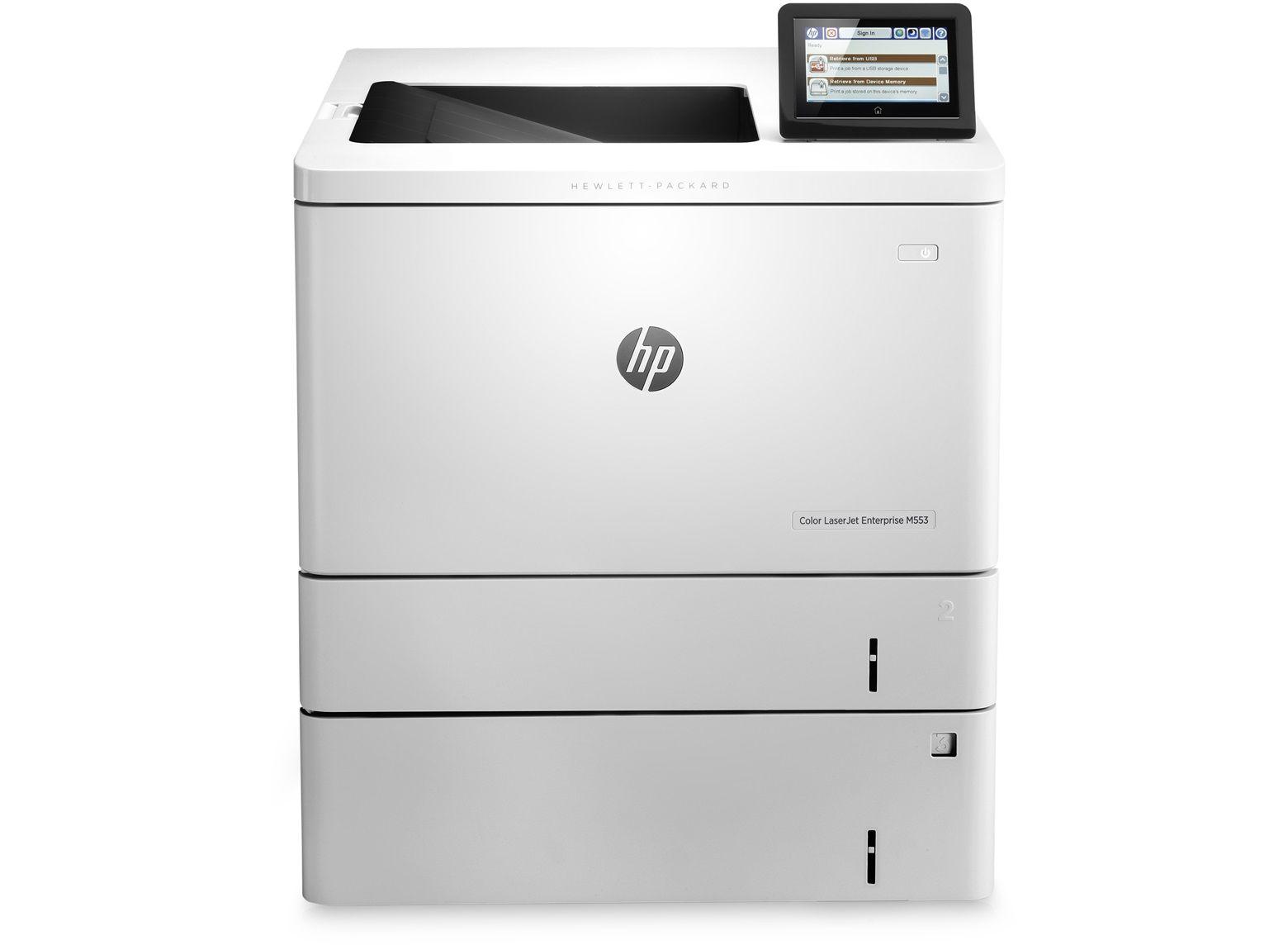 Imprimanta Laser Color HP M553x