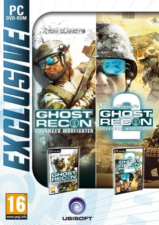 Compilation Ghost Recon Advanced Warfighter 1 & 2 PC