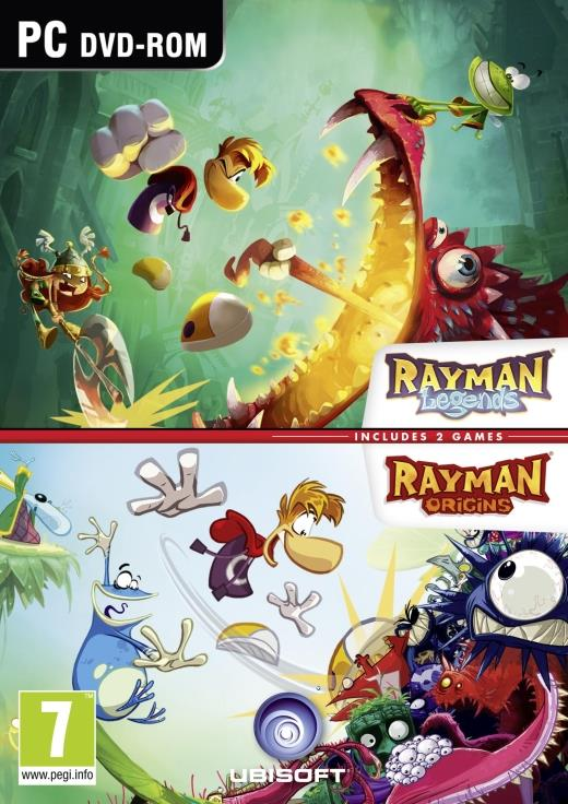 Rayman Double Pack PC