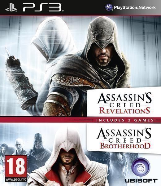 Compilation Assassins Creed Revelations & Assassins Creed Brotherhood PS3