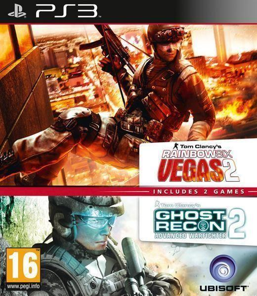 Compilation Rainbow Six Vegas 2 and Ghost Recon Advanced Warfighter 2 PS3