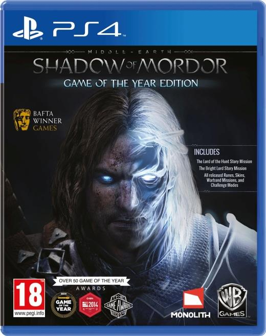 Middle Earth: Shadow of Mordor GOTY PS4
