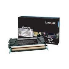 Cartus Toner Black Lexmark X746H3KG 12K