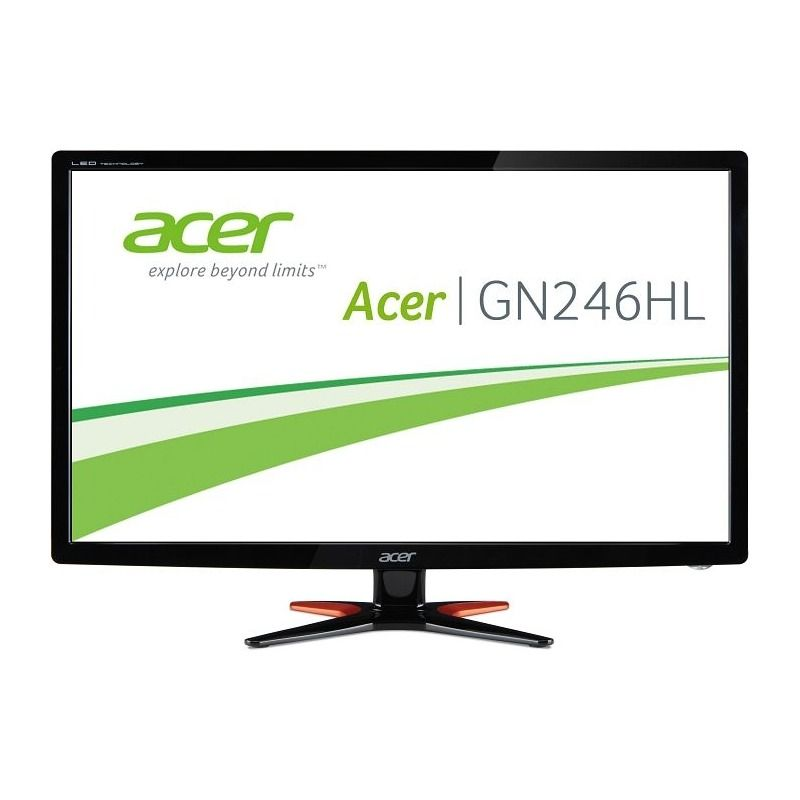 Monitor LED Acer GN246HLBBID 24 Full HD 1ms Negru