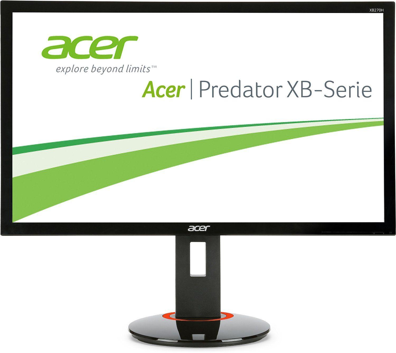 Monitor LED Acer G-Sync XB270HABPRZ 27 1ms DVI Full HD Display Port Negru