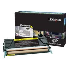 Cartus Toner Yellow Return Program Lexmark X748 10k