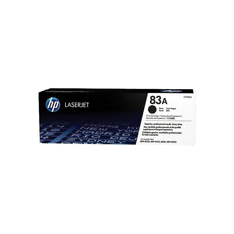 Pachet 2 cartuse toner black HP 83A