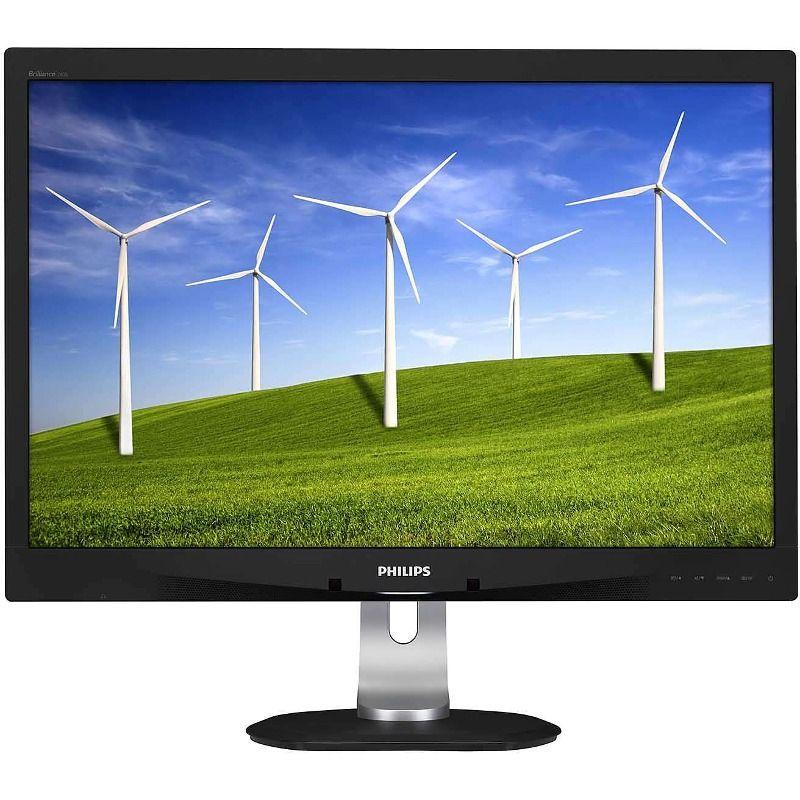 Monitor LED Philips 240B4QPYEB 24'' Full HD 5ms D-Sub DVI-D DisplayPort Negru