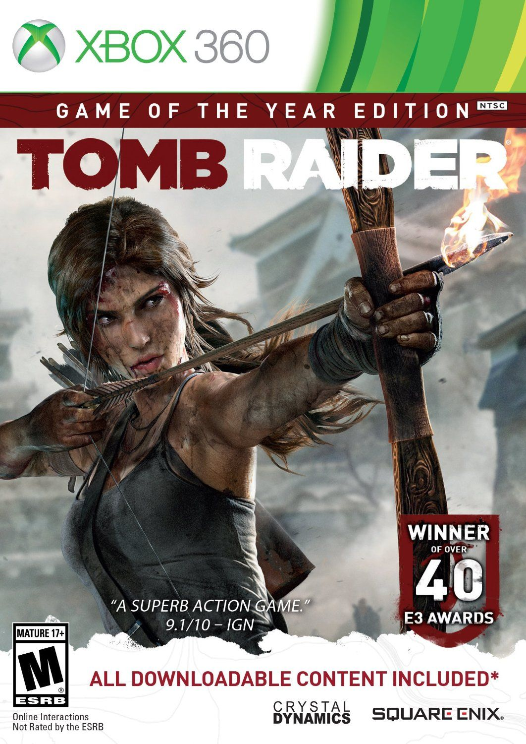 Tomb Raider Game of the Year Edition Xbox360