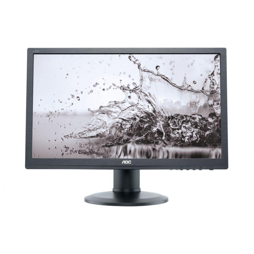 Monitor LED AOC e2260PQ 22 2ms VGA DVI Negru