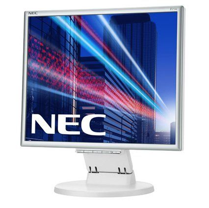 Monitor LED NEC E171M 17 5ms VGA DVI Alb