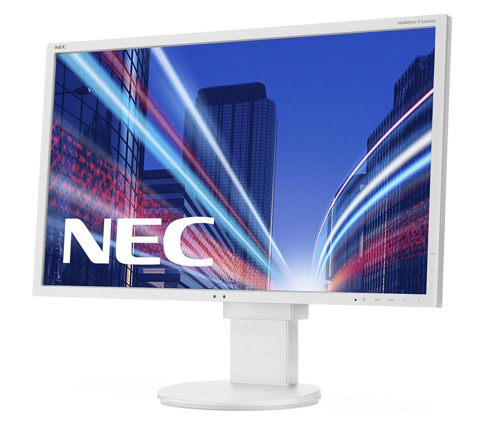 Monitor LED NEC E243WMI 23.8 5ms VGA DVI DisplayPort Alb