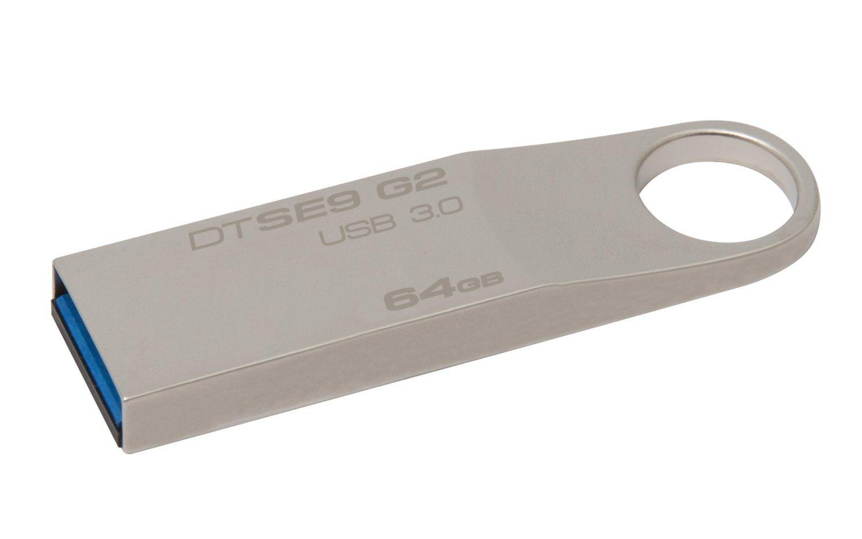 Flash Drive Kingston DataTraveler 64GB SE9 G2 USB 3.0 (Metal casing)
