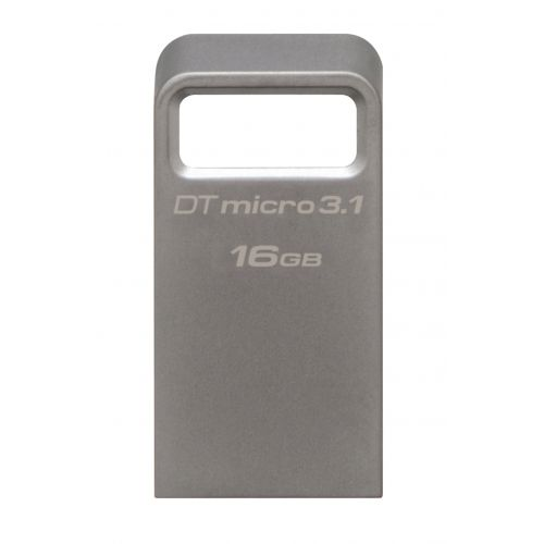 Flash Drive Kingston 16GB DTMicro USB 3.1/3.0 Type-A metal ultra