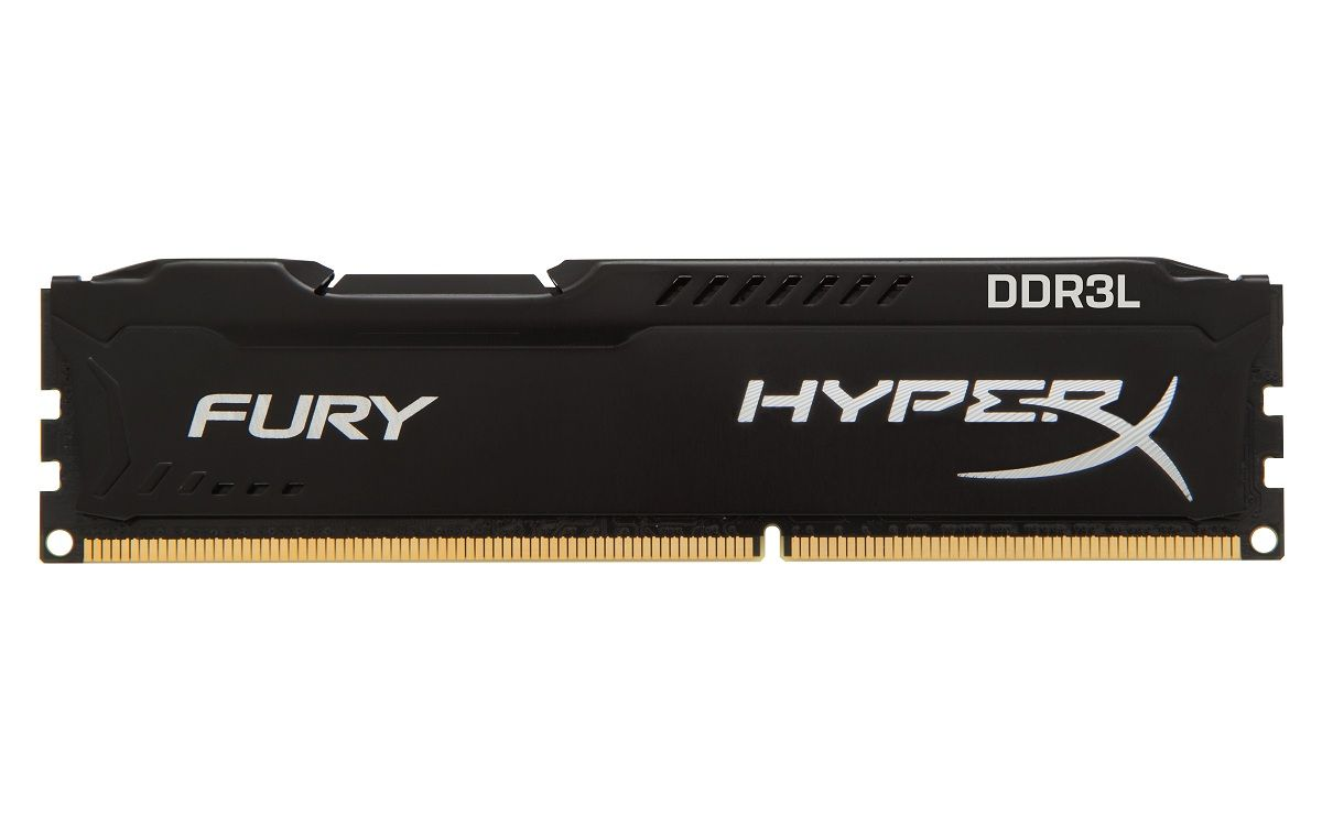 Memorie Kingston HyperX FURY Black 8GB DDR3L 1600MHz