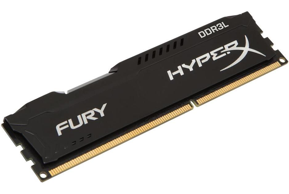Memorie Kingston HyperX FURY Black 4GB DDR3L 1600MHz