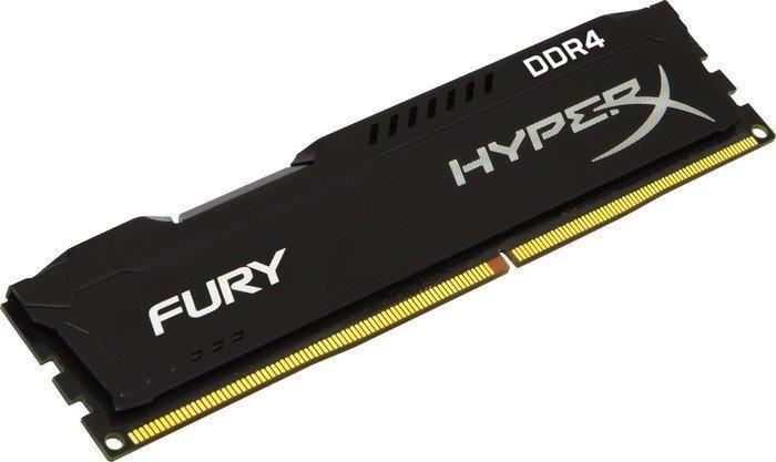 Memorie Kingston HyperX FURY Black Series 4GB DDR4 2666MHz