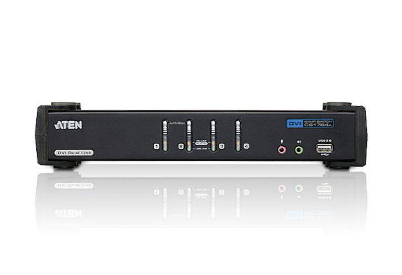 Switch KVM Aten CS1784A nr de calculatoare conectate: 4 rezolutie: 2560x1600