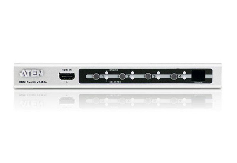 Video spliter Aten VS481A intrare semnal video: 4xHDMI iesirese semnal video: 1xHDMI