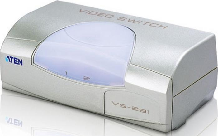Video spliter Aten VS291 intrare semnal video: 2xVGA iesirese semnal video: 1xVGA