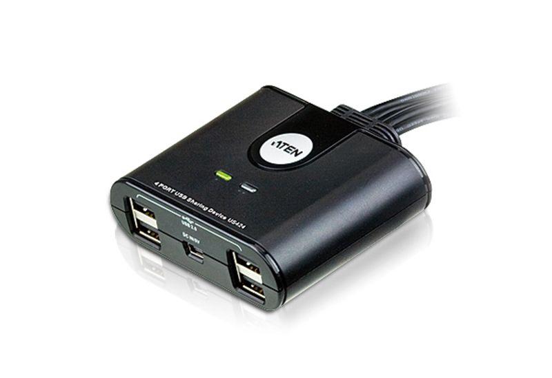 Switch KVM4-Port USB Aten Peripheral Sharing Device