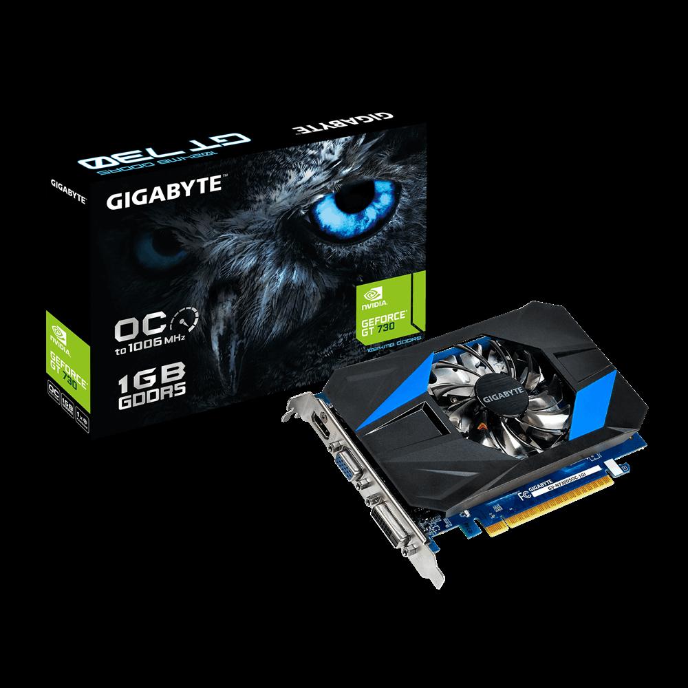 Placa Video Gigabyte nVidia GeForce GT 730 GPU 1GB GDDR5 64 biti