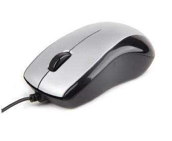 Mouse Gembird Optical 1000 DPI USB Silver-Black